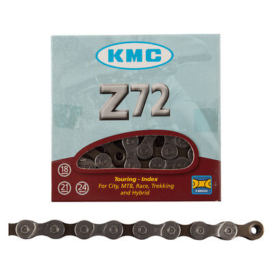 KMC Z-72 7-8sp chain Fits 6//7//8 Speed Gray//Brown