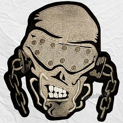 Megadeth Skull Logo Embroidered Big Patch Dave Mustaine for Back Heavy Metal
