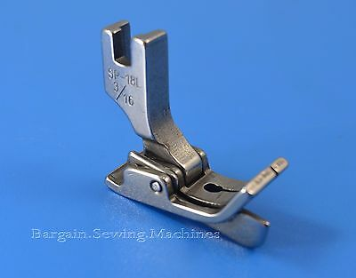 Industrial Sewing Machine Hinged Presser Foot Sp18 LEFT Guide Top Stitch FOOT