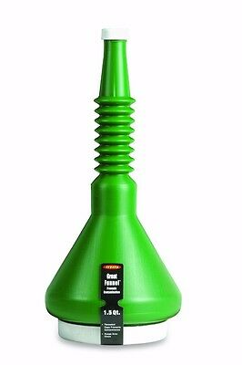 Legacy Great Funnel. 1.5 Qt. Threaded Caps Included, Prevents Contamination