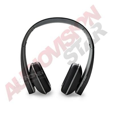 XTRONS Foldable IR Stereo Wireless Headphone Infrared Headset for Car DVD Black