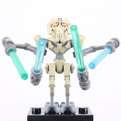General Grievous Star Wars Minifigure Fits With Lego Building Toy Mini Figures