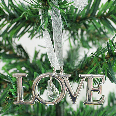 LOVE Christmas Festival Party Xmas Tree Hanging Decorations Ornaments