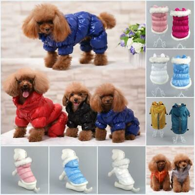 Small Pet Coat Dog Jacket Winter Clothes Puppy Cat Sweater Coat Clothing Apparel