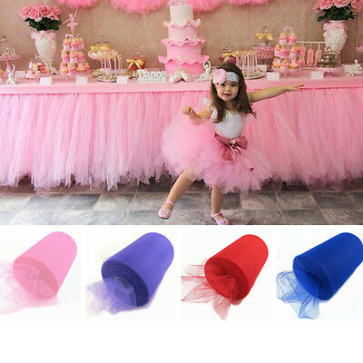 Candy Festival Tulle Roll Tissue Tulle Paper Roll Spool Craft Holiday Decoration