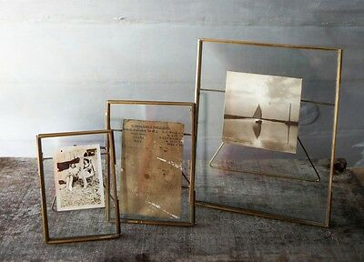 Handmade Antique Vintage Copper Metal Photo Picture Decorative Art Frames Gift