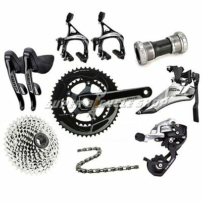 SRAM RIVAL22 2x11 Speed 8 piece Groupset Road Bike Kit