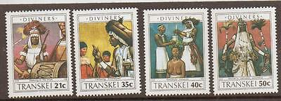 Transkei Sg253/6 1990 Diviners Mnh