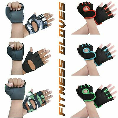 ONEX GYM Weight Lifting Gloves Padded Leather Body Building Gym Straps