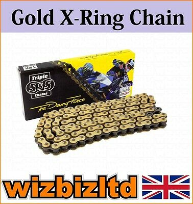 Gold X-Ring Motorcycle Chain Yamaha FZS600 SP Fazer 2000-01 CHX530110