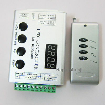 5V 133Change RF Remote Controller 4 WS2811 WS2812B 5050 RGB LED Strip Pixel Bar