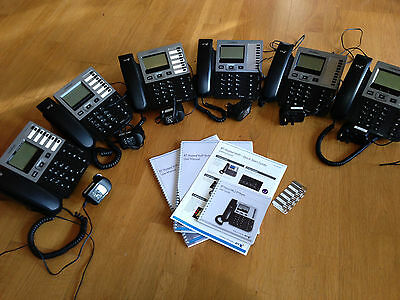 Six Thomson BT Falcon IP Phone TB-30 VoIP office