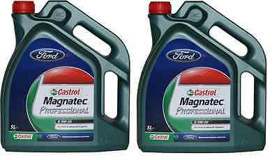 New! GENUINE FORD 5W20 10 Litre Litres Professional Engine Oil Ford Ecoboost