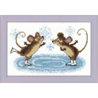 Cross Stitch Kit Winter entertinment