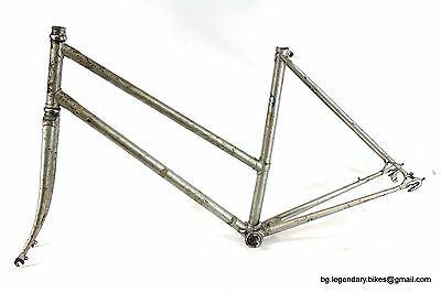 VINTAGE Race bike Chisal hand Made in Italy Lugged Steel Frame Woman