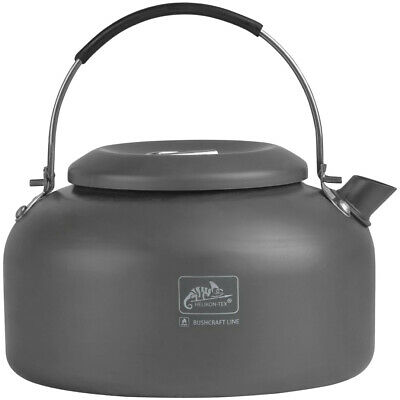 Helikon Camp Kettle Camping Fishing Outdoor Aluminium Travel 1.4 Litre Gear Grey