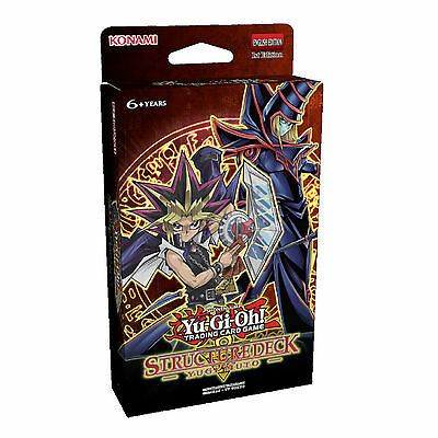 Yu-Gi-Oh Yugi Muto Sealed Structure Deck 2016 Brand new & Sealed