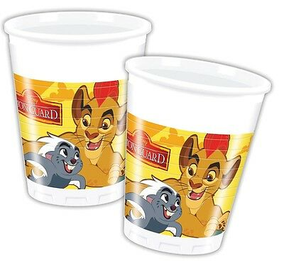 Disney The Lion Guard | Simba | Bunga 200ml Plastic Party Drink Cups 1-48pk