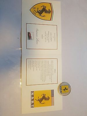 Nart Chinetti Medal And The Dinner Menu