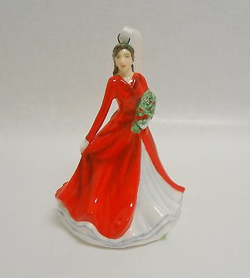 Royal Doulton Deck The Halls Porcelain Christmas Ornament New in Box