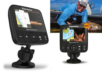 Raymarine Dragonfly 5PRO Eco GPS CHIRP DownVision + Trasduttore + WiFi - E70293