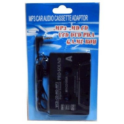 Cassette Adattatore per auto - Telefono mobile, MP3, CD, DVD- Jack 3,5 mm