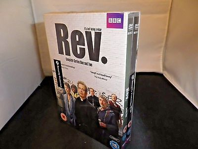 Rev. The Complete Series One & Two 4-Disc Dvd Set Import/pal Region 2 New Sealed