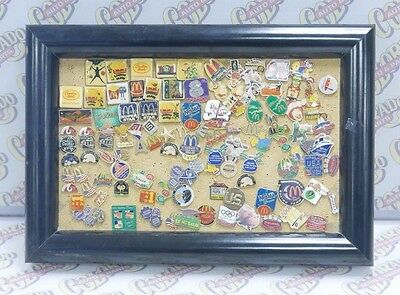 Lot Of Over 100 Vintage & New Mcdonald's Employee Lapel Pins Collection