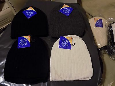 Wholesale job lot of mens 12xbeanie hat