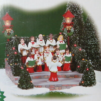 Dept 56 Village Animated Holiday Singers Musical 52505