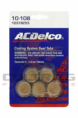 Genuine GM ACDelco Coolant System Sealing Tabs 12378255