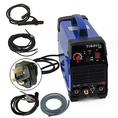 HITBOX TIG200 IGBT TIG Stick inverter welding machine with torch and accessaries