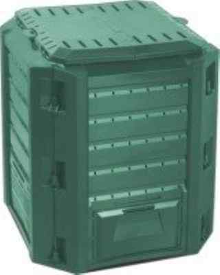 380L GARDEN COMPOSTER BIN NEW GREEN COMPOSTING UNIT green