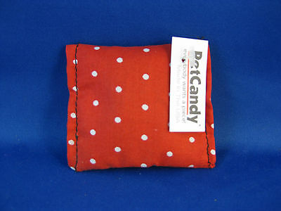 Cat Toy Catnip Nip Kittle for Christmas - Red with Small White Spots
