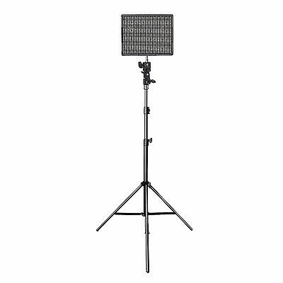 AU Aputure Amaran AL-HR672 S CRI 95+ 5500K LED Video Light Panel + Light Stand