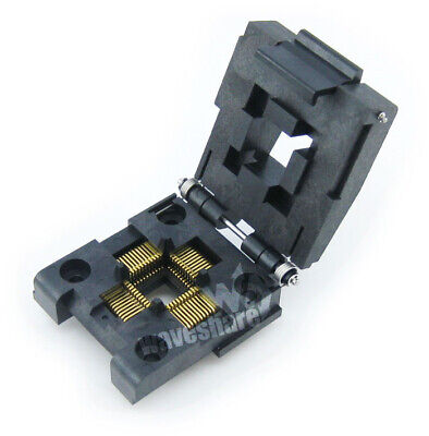 Yamaichi IC51-0444-467 IC Test & Burn-in Socket for QFP44 TQFP44 FQFP44 PQFP44 p