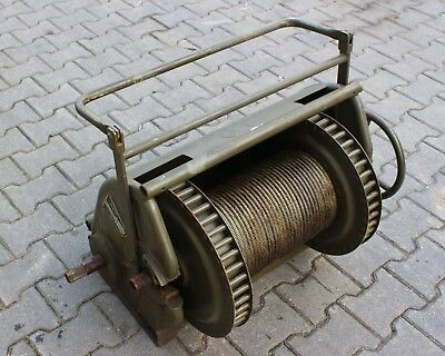 Military German Hand Winch from Bundeswehr 2t