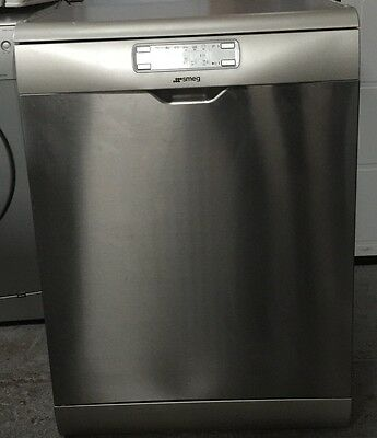 SMEG DFD6133X Full-size Dishwasher - Stainless Steel
