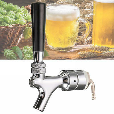 Beer Tap Faucet Draft Shank With Elbow 1-2/5''X3/16'' Brass Tube For Kegerator
