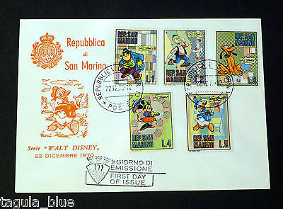 """San Marino 1970 """"Walt Disney"""" First Day Cover from collection"""