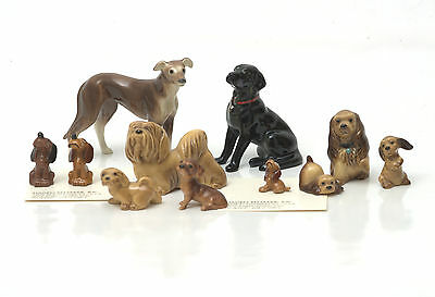 Hagen-Renaker Dogs - Cocker Spaniel, Dachshund, Greyhound, Labrador & Others