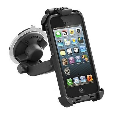 NEW 100% AUTHENTIC FRE Lifeproof Suction Cup CAR Mount for Apple iPhone 5 case