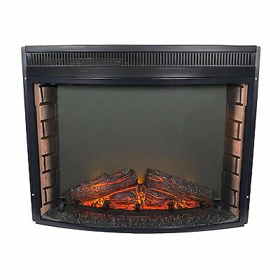 """Tec Flame 28"""" RV Curved Glass Electric Fireplace"""