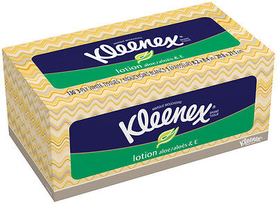 Kleenex Facial Tissues with Lotion - 130 ct (24 PACK)