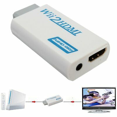 Konex (TM) Wii To HDMI 480i/P Upscale to 720P+3.5mm Audio Converter 60-141