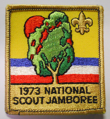 VINTAGE! Boy Scouts of America National Jamboree 1973 Patch