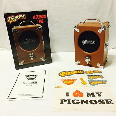 NEW Pignose 7-100 Guitar Portable Amplifier, Battery Powered, Authorized Dealer