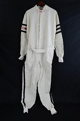 Rjs Racing Sfi 3-2A/1 New Classic 1 Pc Suit Large Fire Suit White 200040005