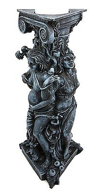 """10"""" Tall Triple Goddess Maiden Expectant Mother & Crone Pagan Worship Figurine"""