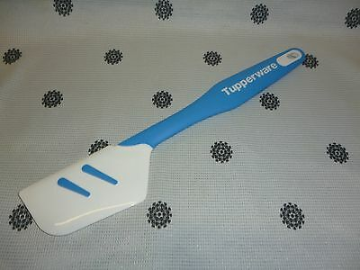 Tupperware Silicon Spatula Blue White New